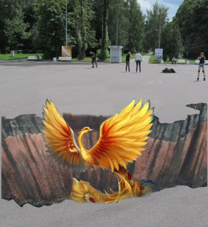 MOST FESTIVAL'12: 3D ЖАР-ПТИЦА ДЛЯ ИЗМАЙЛОВСКОГО ПКиО. Изображение № 1.