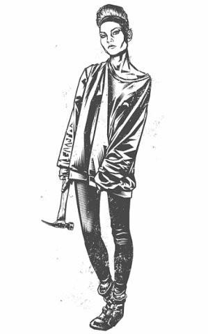 Девушки с оружием от Frank Barbara. Изображение № 8.
