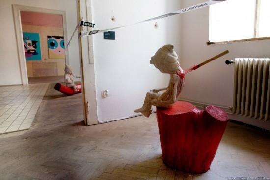 Музей современного искусства в Чехии: Искусство и шок. Изображение № 19.