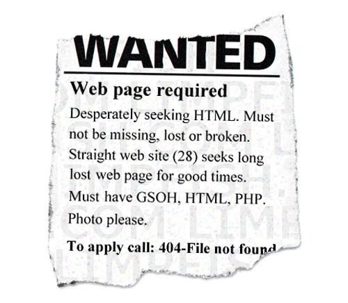 20 Интересных оформлений страницы ошибки 404. Изображение № 7.