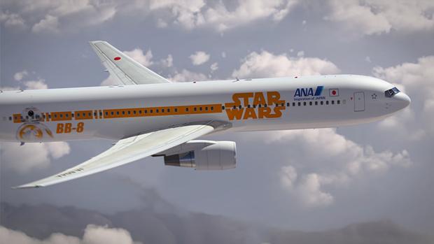 Авиакомпания показала перекраску самолёта под R2-D2. Изображение № 10.