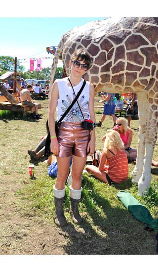 Изображение 26. Уличный стиль на фестивале Glastonbury.. Изображение № 26.