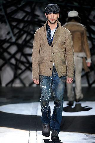 Что носить осенью: мужские показы в Милане. Изображение № 232.