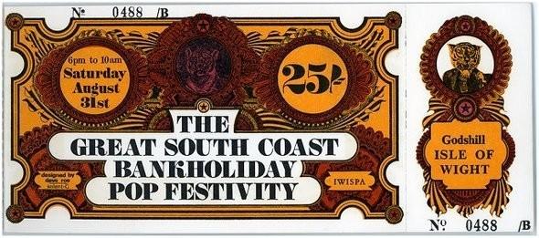 Билет на фестиваль в 1968 году.. Изображение № 5.