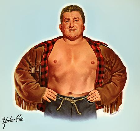 Wrestling Stars забавный ретро – календарь. Изображение № 4.