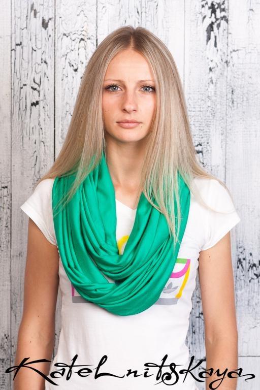 Осенняя коллекция ярких шарфов-снудов. Изображение № 1.