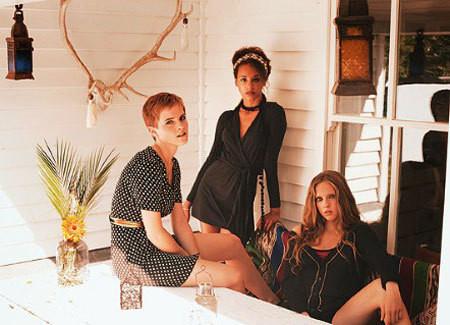 Изображение 6. Emma Watson и ее весенняя коллекция для People Tree.. Изображение № 6.