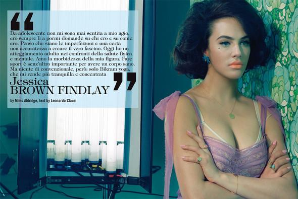 Съёмки: Interview, Harper's Bazaar, V и другие. Изображение № 26.