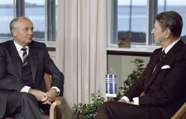 Горбачев и Рейган в Рейкьявике. Изображение №3.