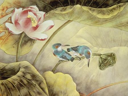 Птицы ицветы. Изображение № 12.