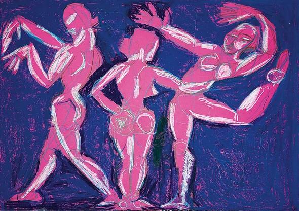 «NOVRUZ -новый день». Выставка художника Марьям Алакбарли в ММСИ. Изображение № 1.