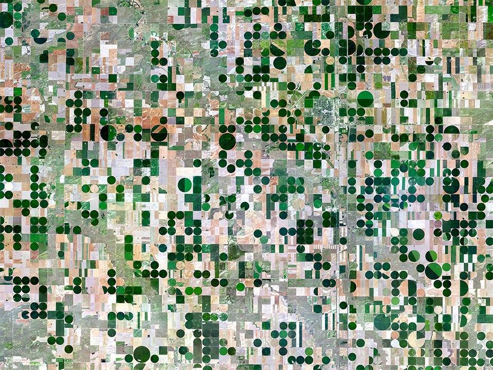 Снимки из космоса, напоминающие о хрупкости природы. Изображение № 26.