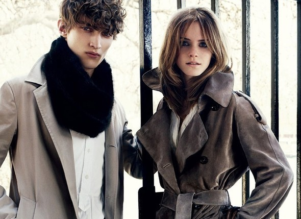 Emma Watson for Burberry : AutumnWinter 2009–2010. Изображение № 4.
