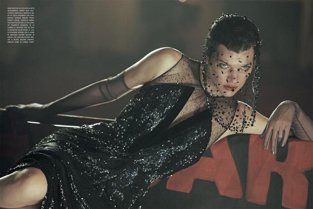 Вышли новые съемки Vogue, i-D, 10 и Interview. Изображение № 51.