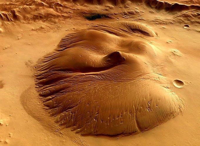 Появились первые подробные 3D-карты Марса. Изображение № 4.