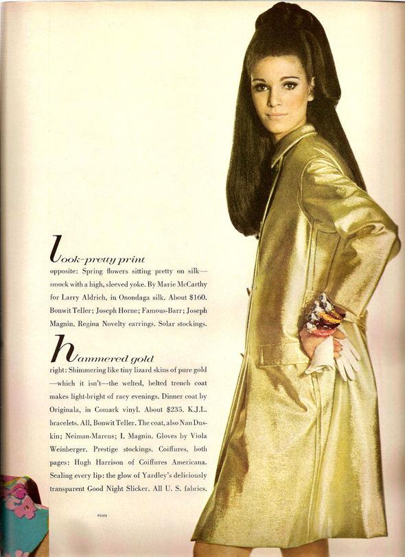 «Выгляди великолепно» каквVogue 1967 года. Изображение № 8.
