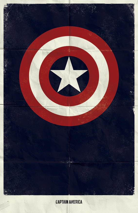 Минималистичные постеры для Marvel Comics. Изображение № 3.