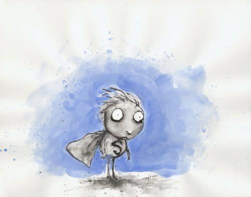 Тим Бартон в роли художника. Изображение № 23.