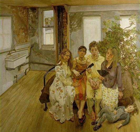Умер Люсьен Фройд, один из самых известных британских художников. Изображение № 8.