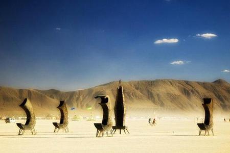 """Фестиваль """"Burning Man! """" вНеваде. Изображение № 18."""