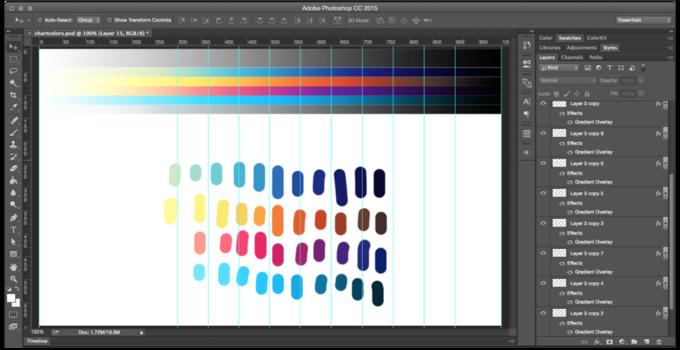 Дизайнер дал советы о выборе палитры для инфографики