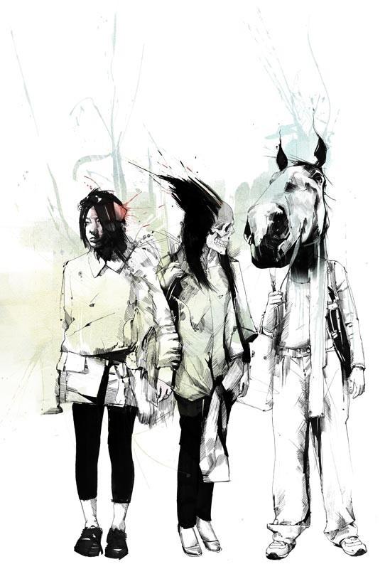 Russ Mills : графика, фотография и живопись. Изображение № 14.