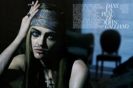 Изображение 6. Dans la peau de John Galliano by Peter Lindbergh.. Изображение № 7.