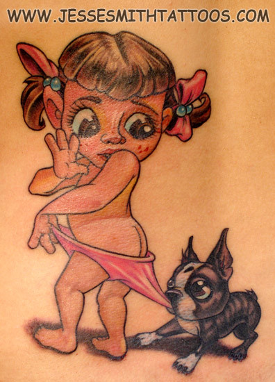 Jesse Smith Tattoo. Изображение № 3.