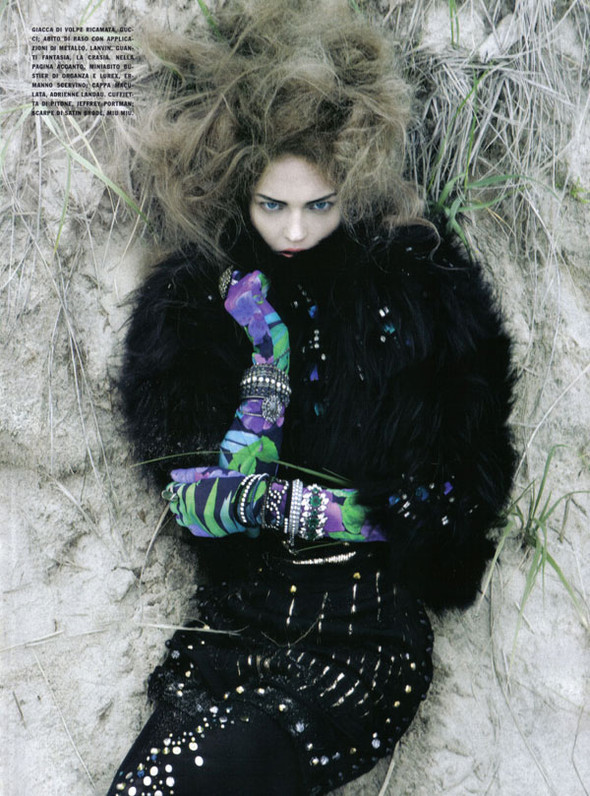 Изображение 3. Sasha Pivovarova by Craig McDean for Vogue Italia.. Изображение № 3.
