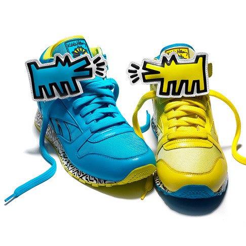 Reebok посвятили кроссовки Киту Харингу. Изображение № 1.