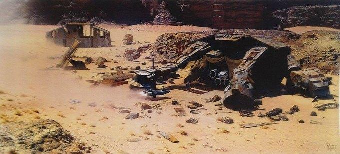 В Сеть выложили 32 концепт-арта для «Звёздных войн VII». Изображение № 13.