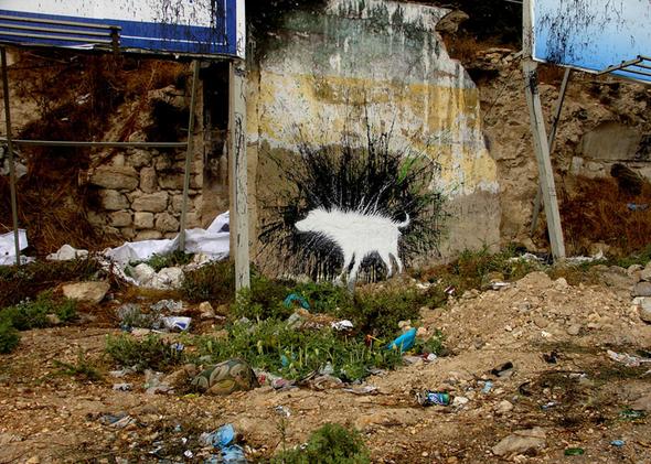 Изображение 51. Banksy (уличная мышь – герой).. Изображение № 51.
