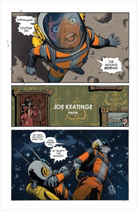 «Никаких зомби и супергероев»: Интервью с создателями комикса Shutter. Изображение № 7.