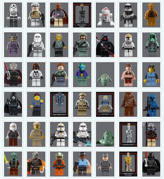 День Звездных Войн. Всеперсонажи Звездных войн отLego. Изображение № 5.
