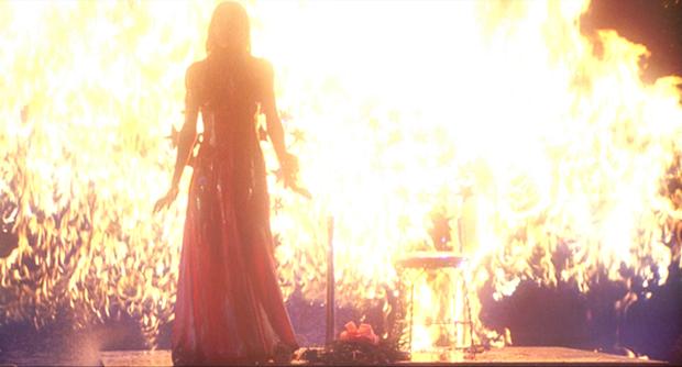 Режиссёр Эдгар Райт («Скотт Пилигрим против всех»). Кадр из фильма «Кэрри» Брайана Де Пальмы . Изображение № 1.
