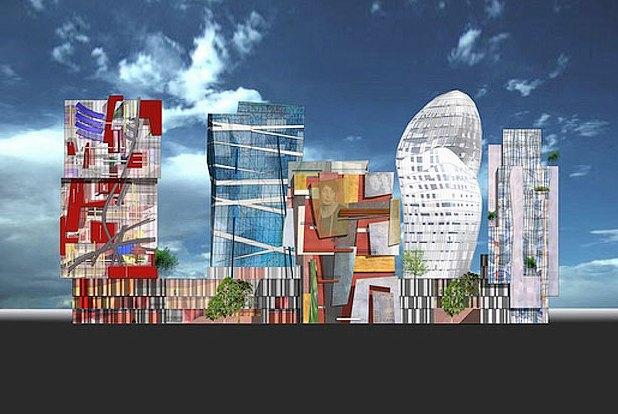 Ожидания и реальность: Проекты звёздных архитекторов в России. Изображение № 12.