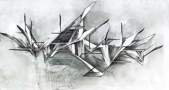 Интервью с граффити райтерами: Morik1. Изображение № 18.