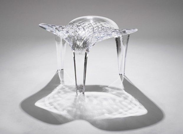 Заха Хадид создала новые предметы мебели для серии Liquid Glacial. Изображение № 3.