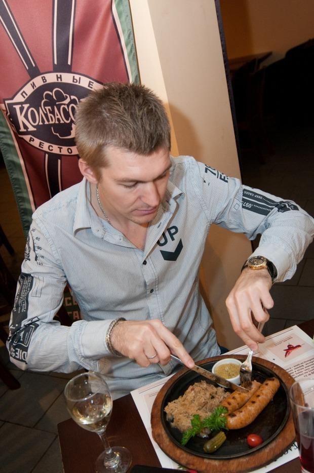 """Андрей Тихонов отпраздновал день рождения в ресторане """"Колбасофф"""". Изображение № 15."""