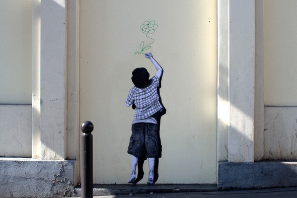 Стрит-арт от французкой команды Murmure - Artisme. Изображение № 3.