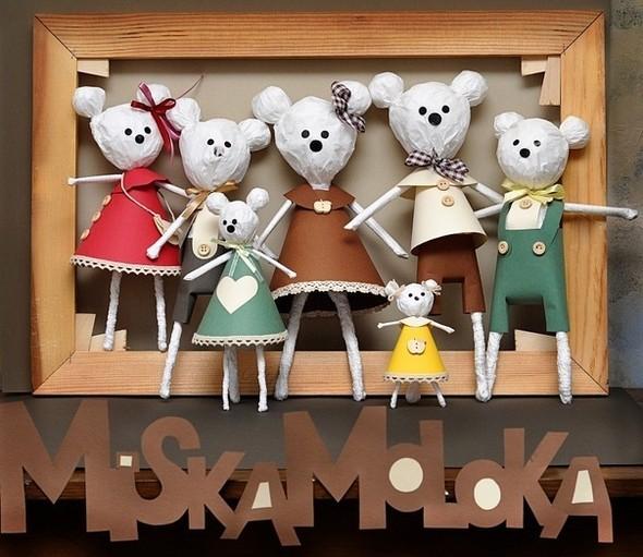 MiskaMoloka душевные игрушки ручной работы из бумаги. Изображение № 1.