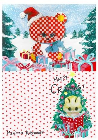 Новогодние fashion cards. Изображение № 5.