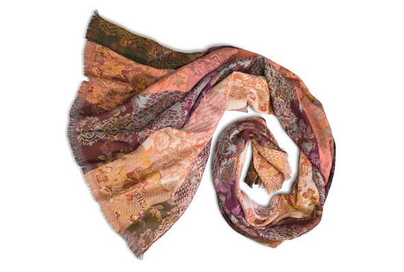 Изображение 1. Kenzo выпускают юбилейную коллекцию шарфов.. Изображение № 4.