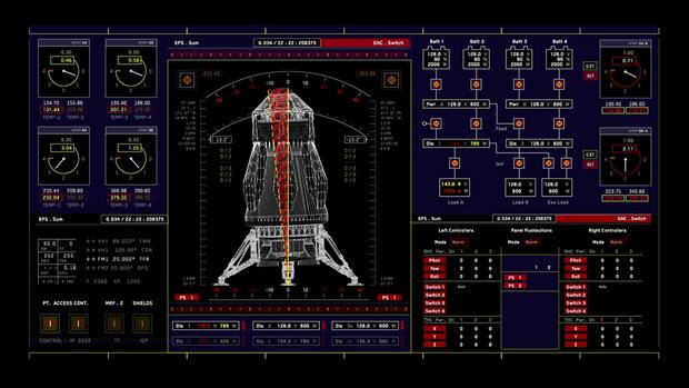 Студия рассказала обинтерфейсах в«Марсианине». Изображение № 5.