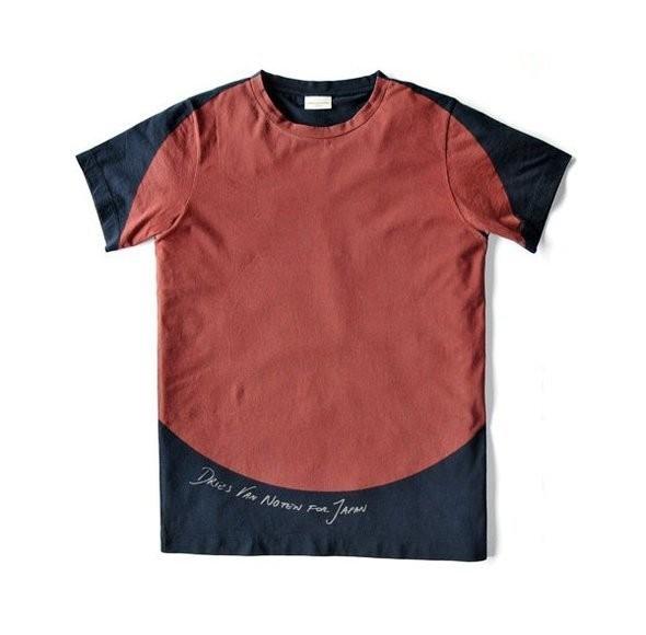 Изображение 1. Dries Van Noten выпустили футболки в поддержку Японии.. Изображение № 1.