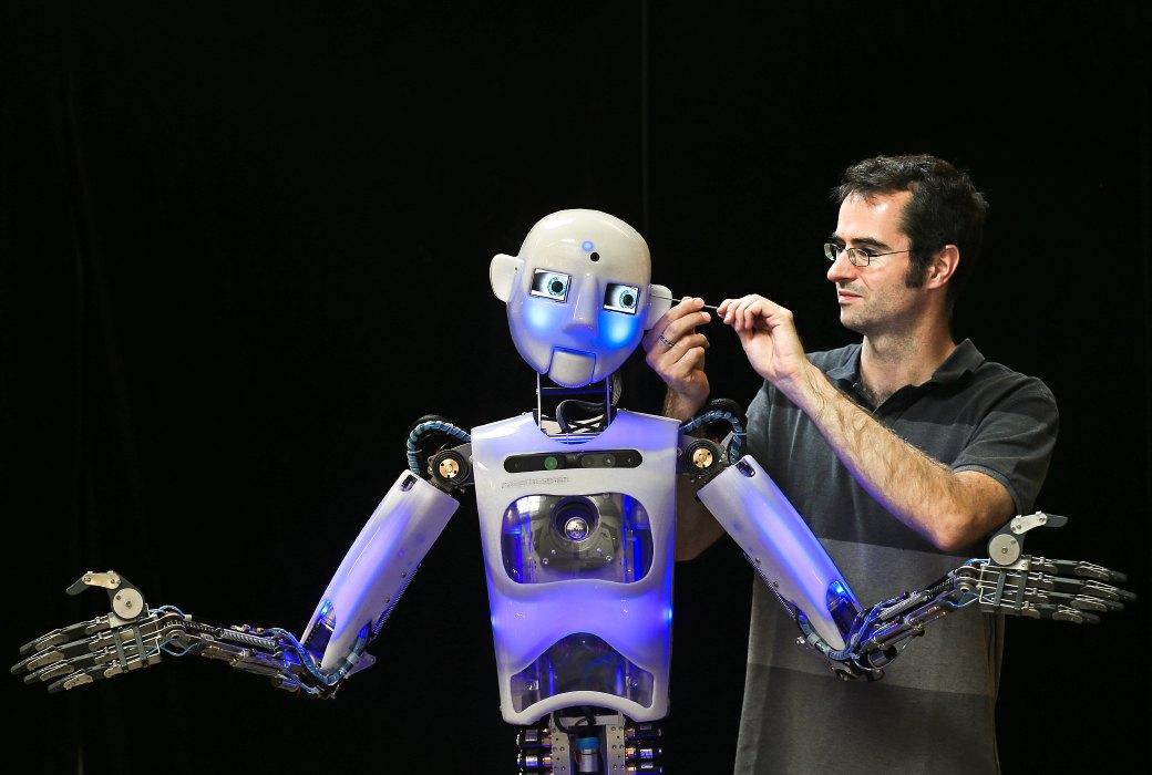 Как собирают эмоциональных андроидов, которые играют в театре. Изображение №2.