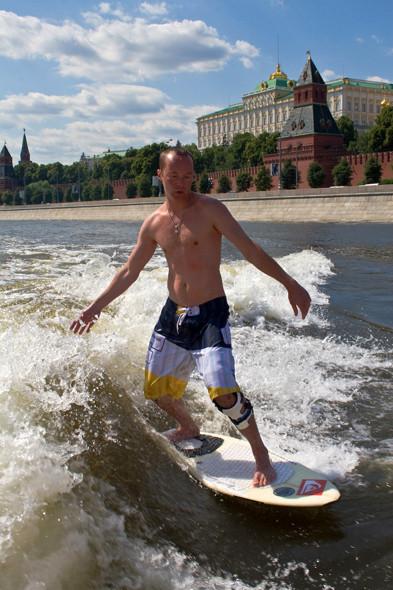 Вейксёрфинг у стен Кремля. Изображение № 7.