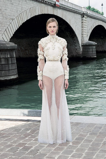 Изображение 19. Показана новая кутюрная коллекция Givenchy.. Изображение № 1.