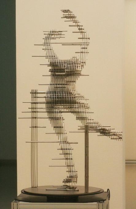 """Скульптуры из """"ломтиков"""" металла. Park Chan Girl. Изображение № 8."""
