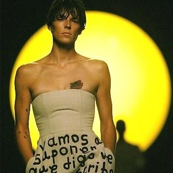 Изображение 21. Bimba Bosé - андрогинный персонаж в мире моды и кино.. Изображение № 20.